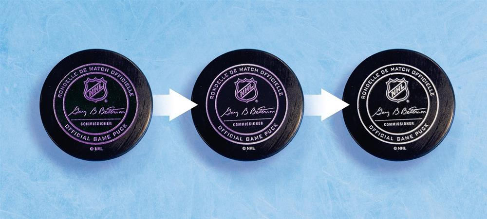 Color Changing Hockey Puck