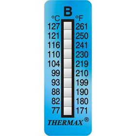 Picture of Thermax 10 Level Strips - Irreversible Labels - 10 per pack