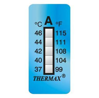 Picture of Thermax 5 Level Strips - Irreversible Labels - 10 per pack