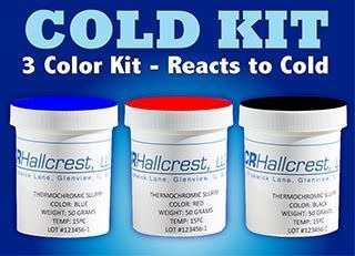 Picture of Water Based Cold Activated Thermochromic Ink Kit