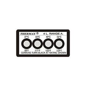 Picture of Thermax 4 Level Strips - Irreversible Labels - 10 per pack